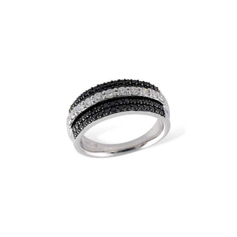 Allison-Kaufman 14k White Gold Diamond Ring