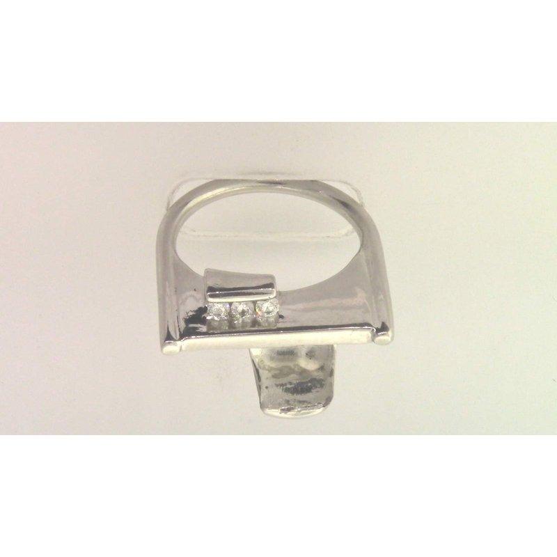 Pugh's Signature Platinum Diamond Semi Mount Ring