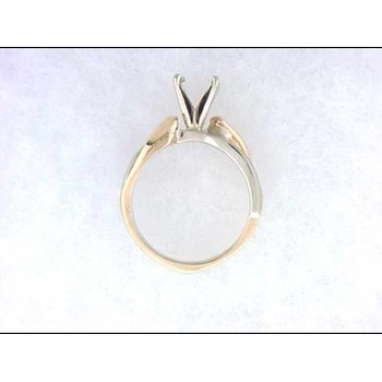 14k White And Yellow Gold Estate Jewelry