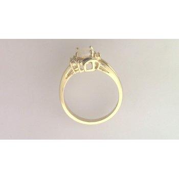 Ladies' 14k Yellow Gold Opal Ring