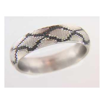 Gentlemans' Titanium Wedding Ring