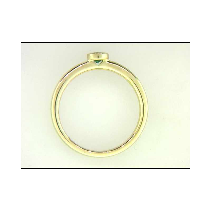 Ostbye 14k Yellow Gold Colored Stone Ring