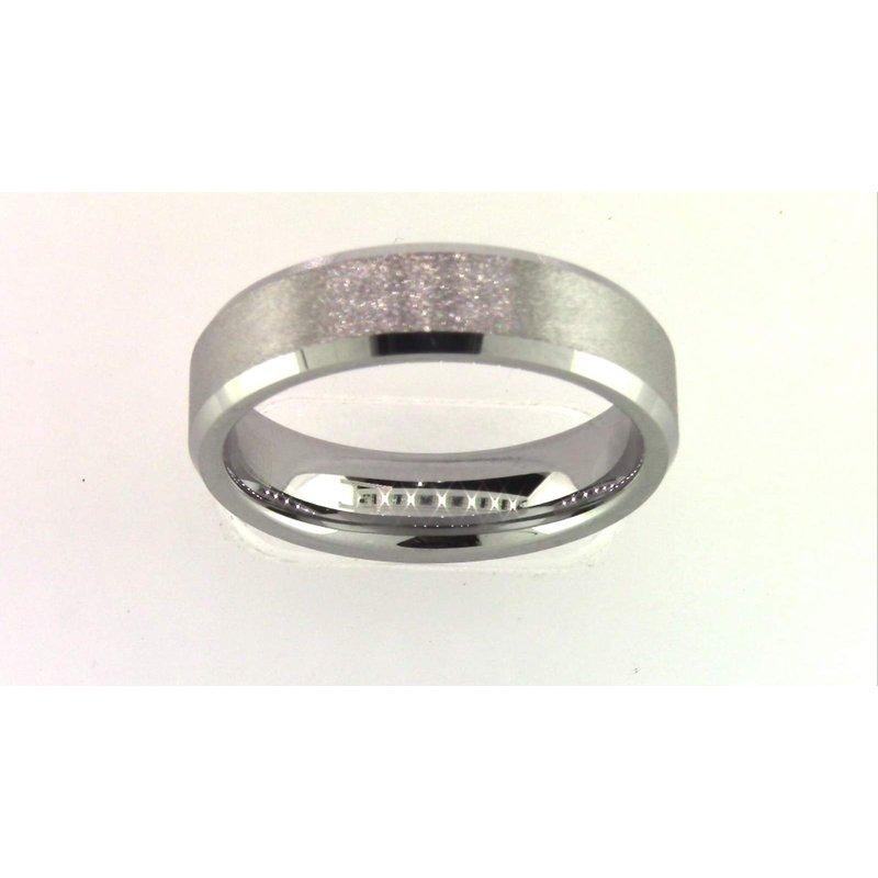 Pugh's Signature Tungsten Carbide Tungsten Wedding Band