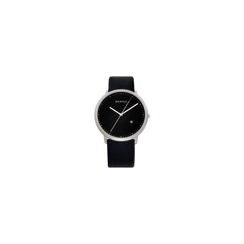 Pugh's Signature Gentlemans' Stainless Steel Bering Designer Watch
