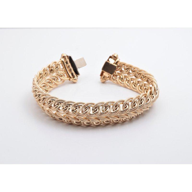 Pugh's Signature 14k Yellow Gold Bracelet