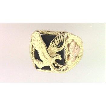 Gentlemans' 10k Yellow Gold Ring