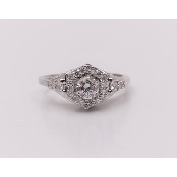 Ladies' 14k White Gold Ring