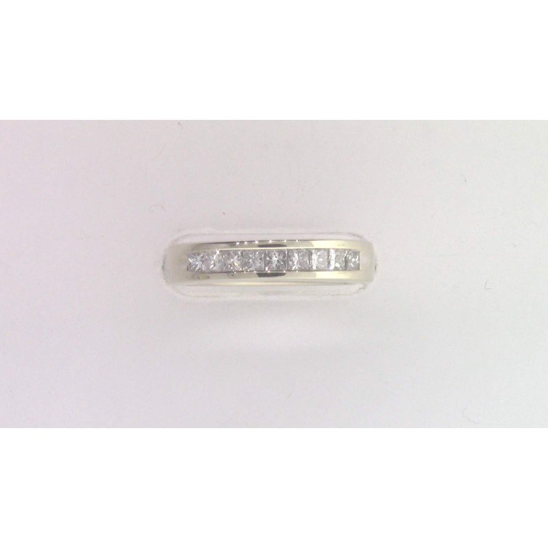 Pugh's Signature 14k White Gold Diamond Band