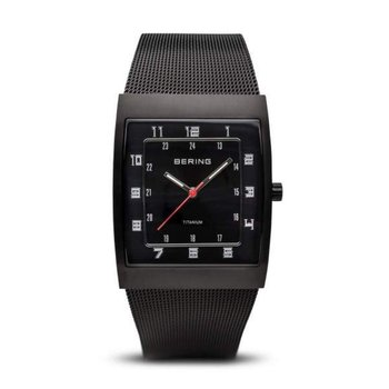Gentlemans' Stainless Steel Bering Watch