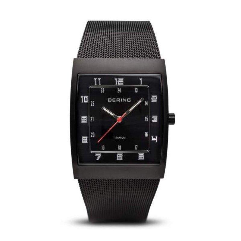 Pugh's Signature Gentlemans' Stainless Steel Bering Watch