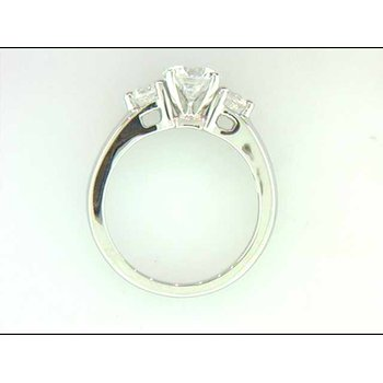 Ladies' 14k White Gold Ring