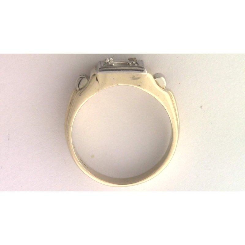 Pugh's Signature Gentlemans' 14k Yellow Gold Ring Mounting