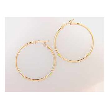 14k Yellow Gold Earring