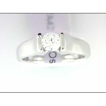 Ladies' 14k White Gold Ring Mounting