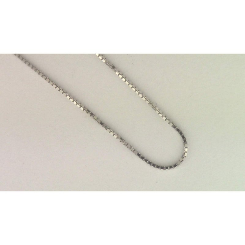 Pugh's Signature 14k White Gold Estate Necklace