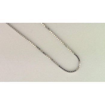 14k White Gold Estate Necklace