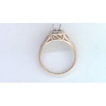 14k Rose Gold Diamond Ring