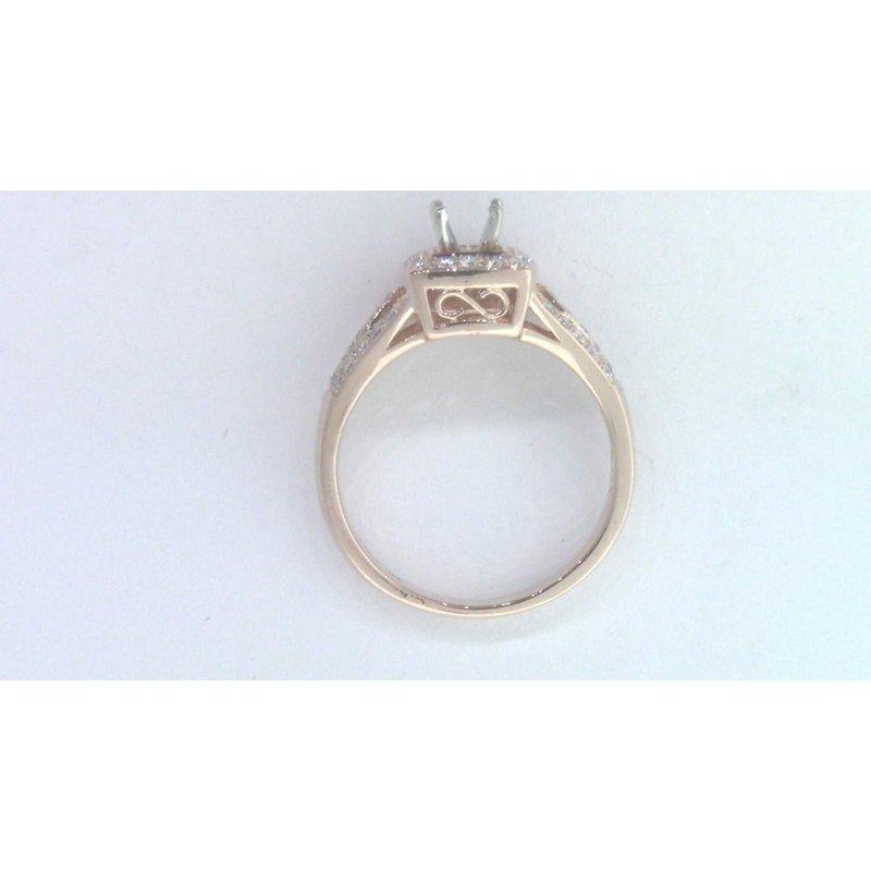 Pugh's Signature 14k Rose Gold Diamond Ring