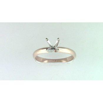 14k Rose Gold Ring Mounting