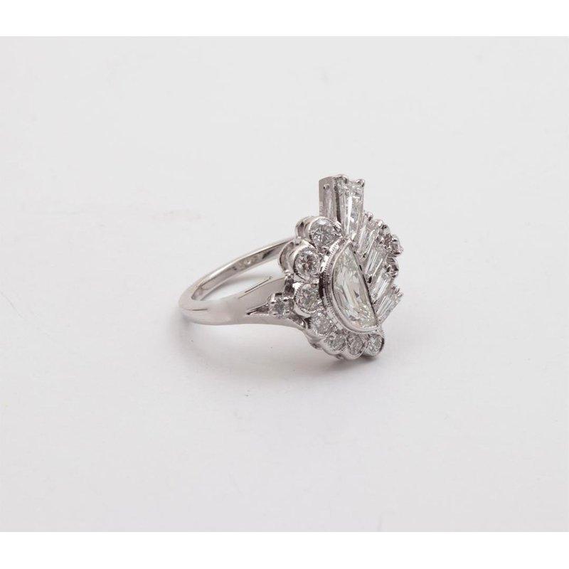 Pugh's Signature Platinum Diamond Ring