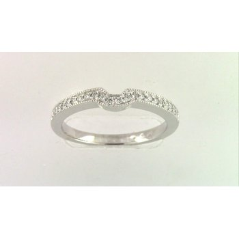 14k White Gold Diamond Lady's Wedding Ring