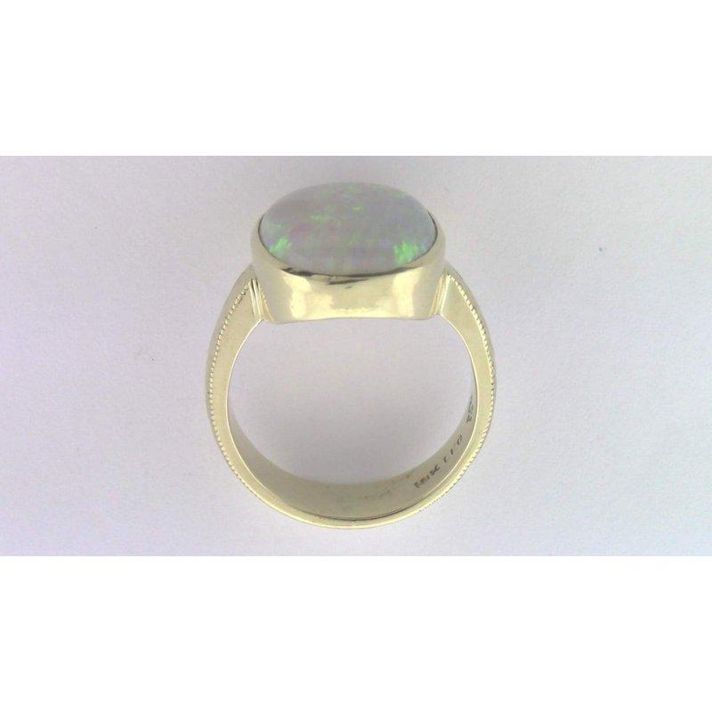 Pugh's Signature 18k Yellow Gold Ring Mounting
