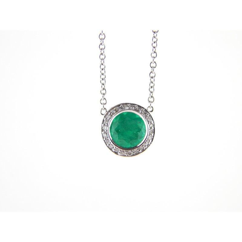 WS Creations Emerald Pendant
