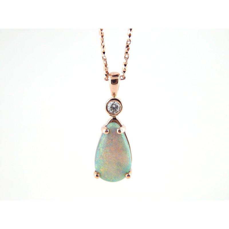 WS Creations Opal Pendant