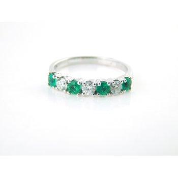 Emerald and Diamond Band