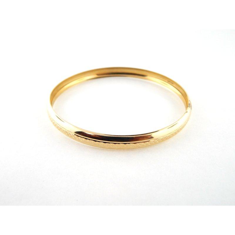WS Creations Gold Bangles