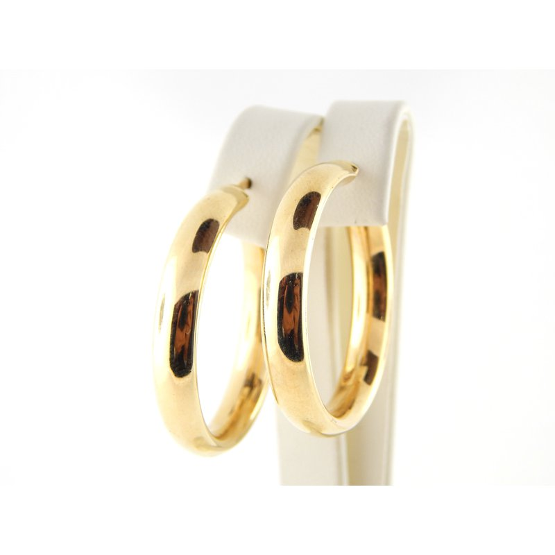 WS Creations Gold Earrings