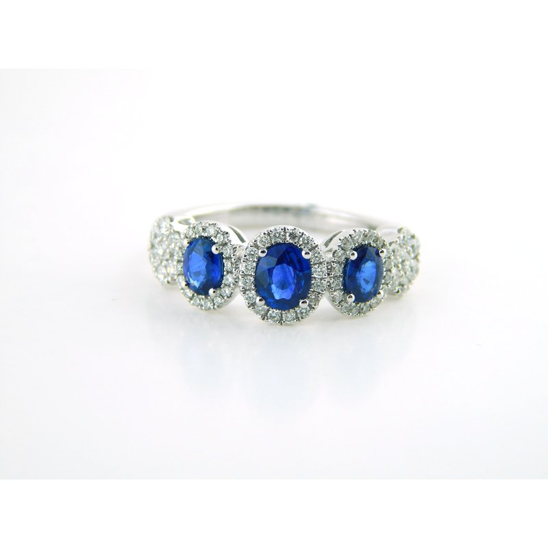 WS Creations Sapphire Ring