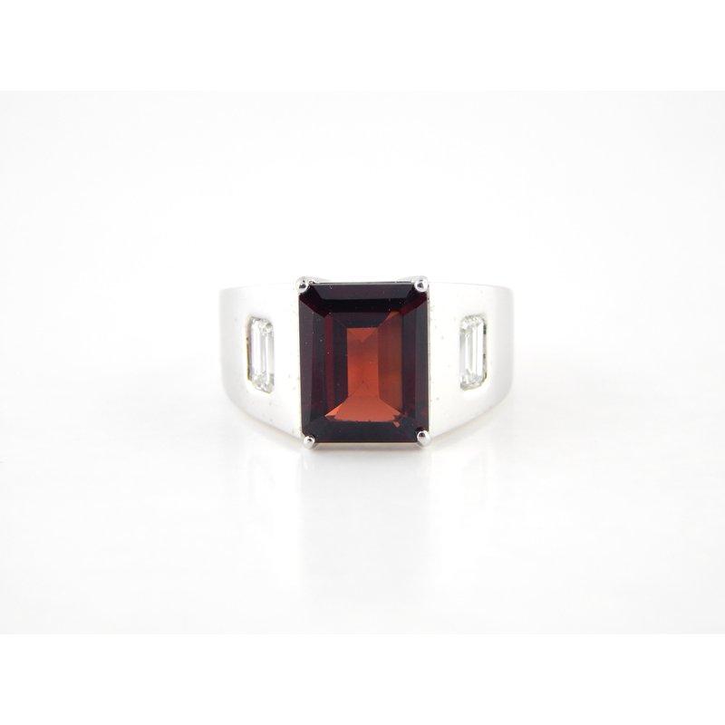 WS Creations Garnet Ring