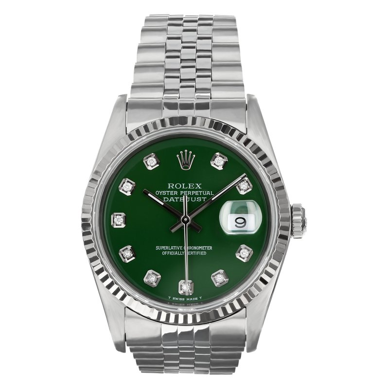 Pre-Owned Rolex Certified by Swiss Crown Oyster Perpetual Datejust