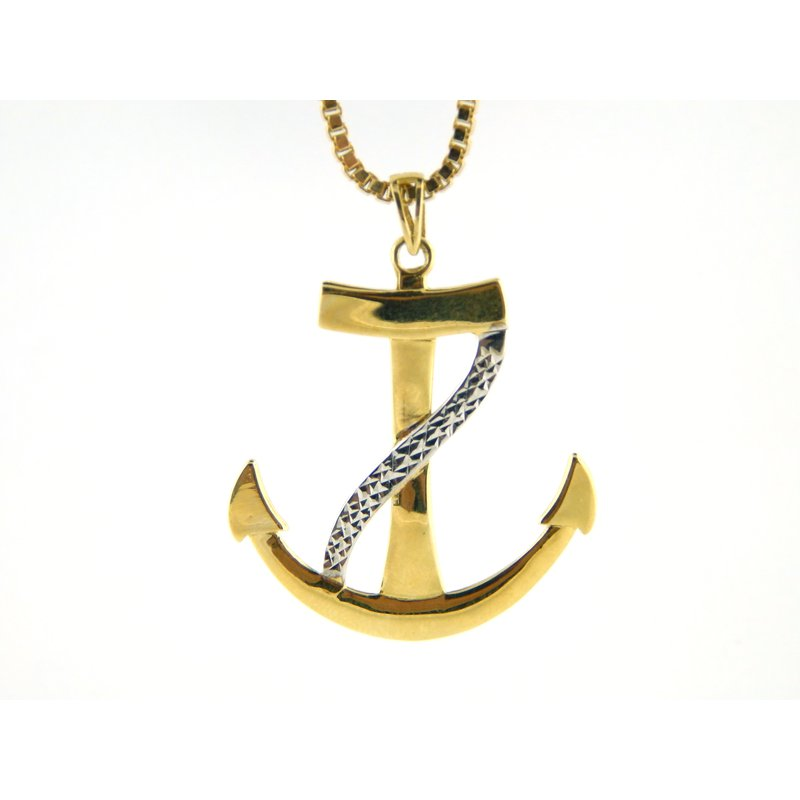 WS Creations Anchor Pendant