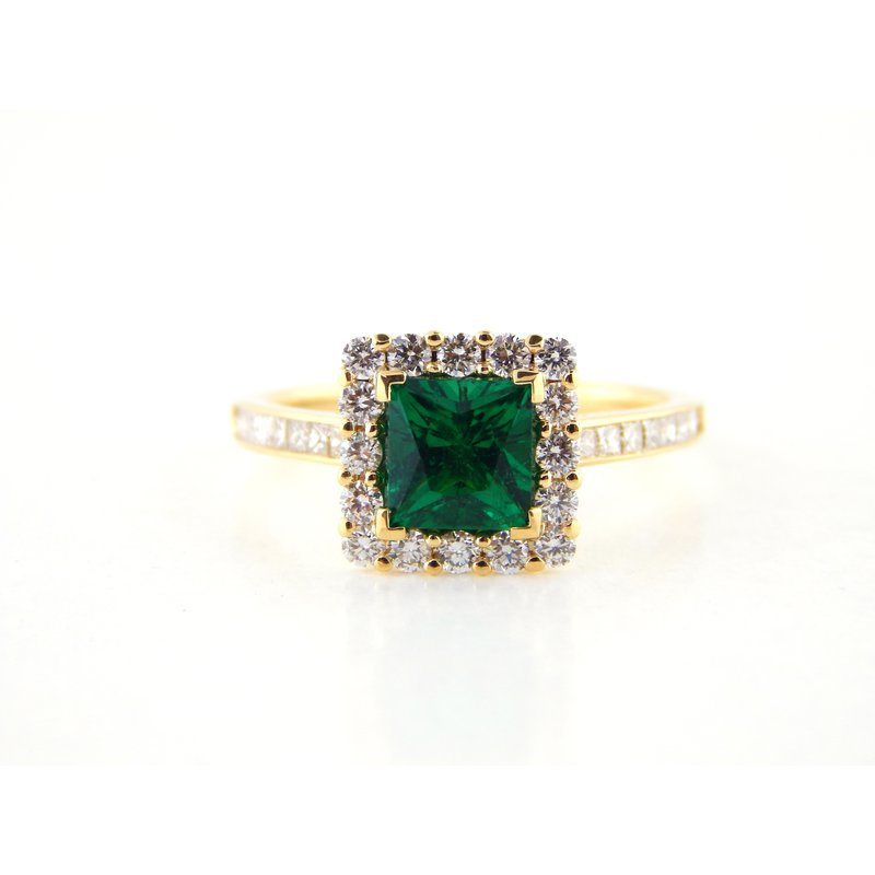 WS Creations Emerald Ring