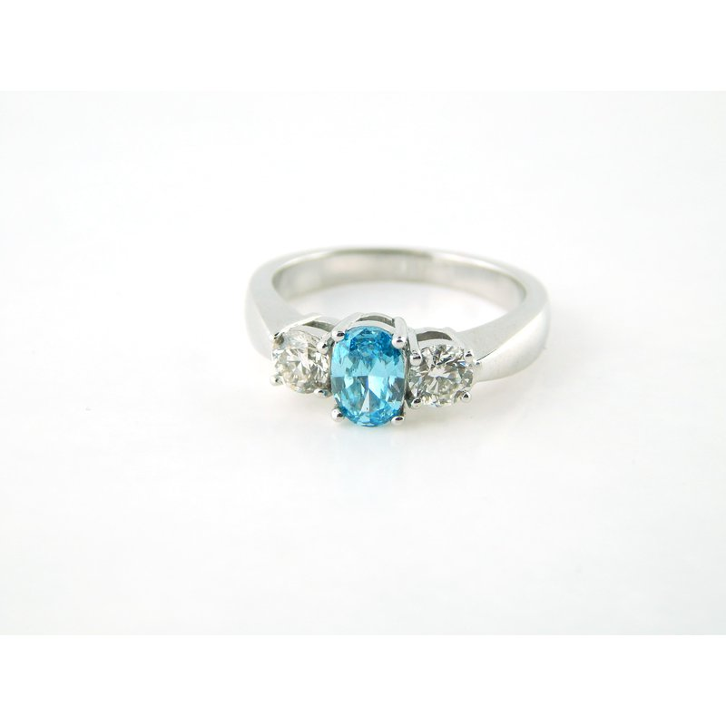WS Creations Blue Diamond RIng
