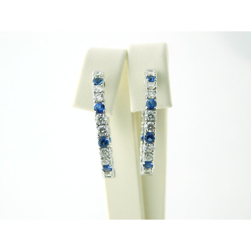 WS Creations Sapphire Earrings