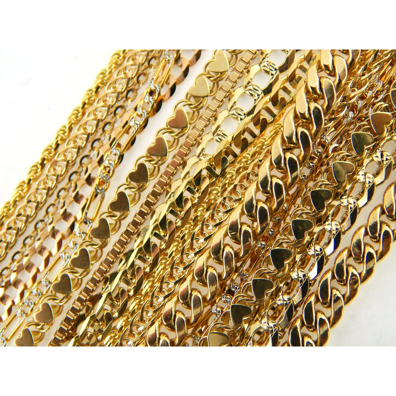 WS Creations Gold Chains