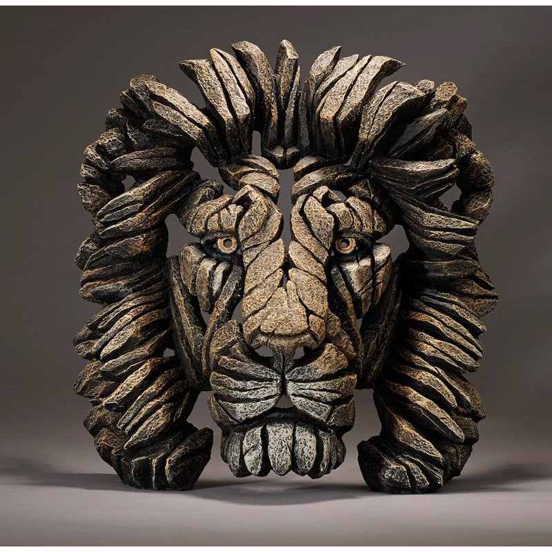 Edge Sculpture Lion Bust
