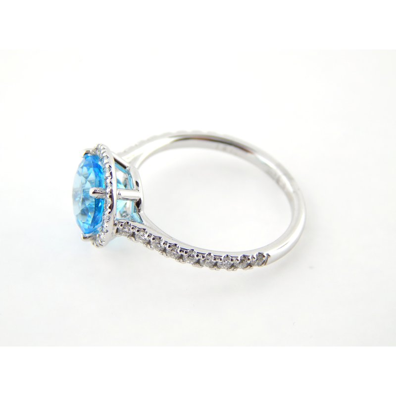 WS Creations Blue Topaz Ring