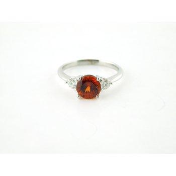 Spessarite Garnet Ring