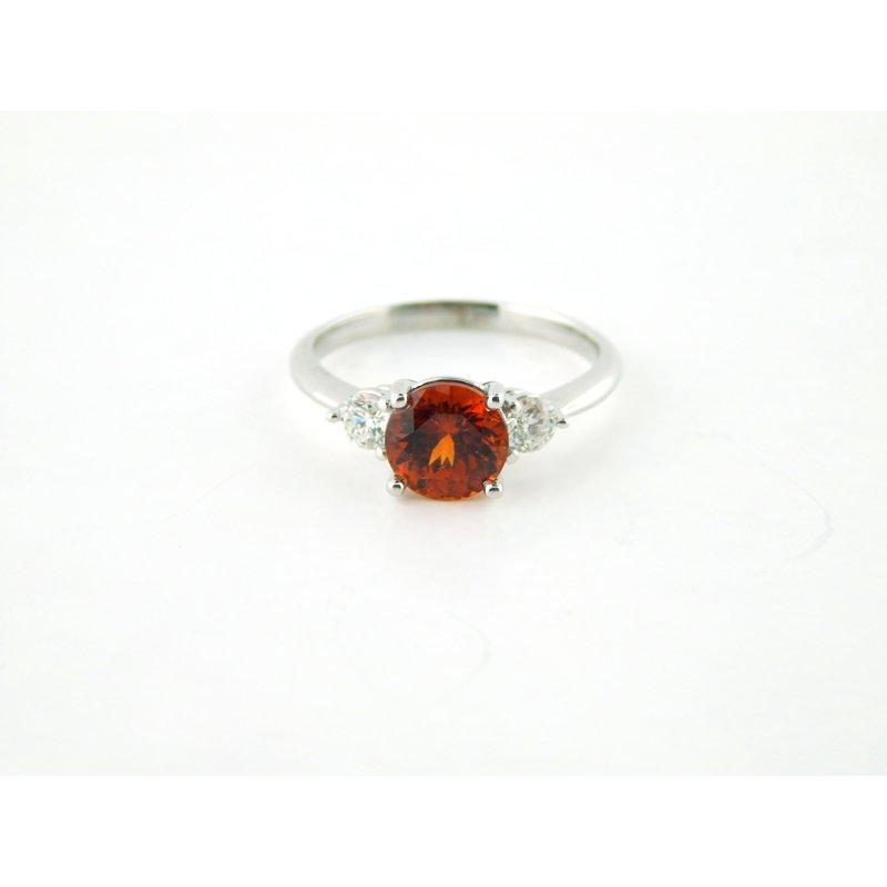 WS Creations Spessarite Garnet Ring