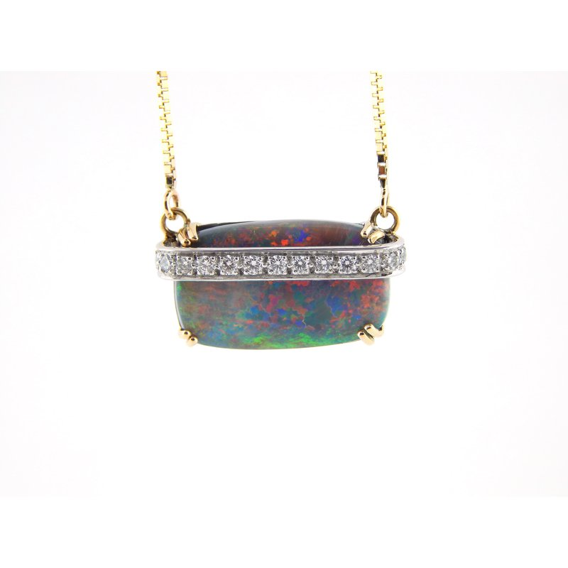 WS Creations Opal Necklace