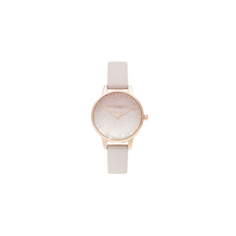 Olivia Burton Sunrise Wishing Wave Midi Dial Pearl Pink & Rose Gold Watch