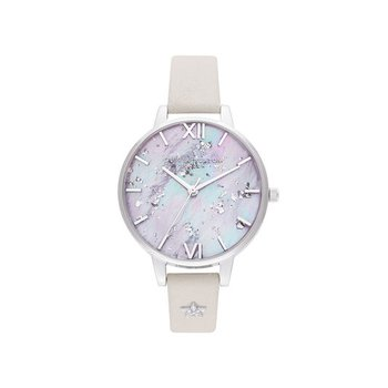 Celestial Star Mother Of Pearl Dial, Blush & Silver