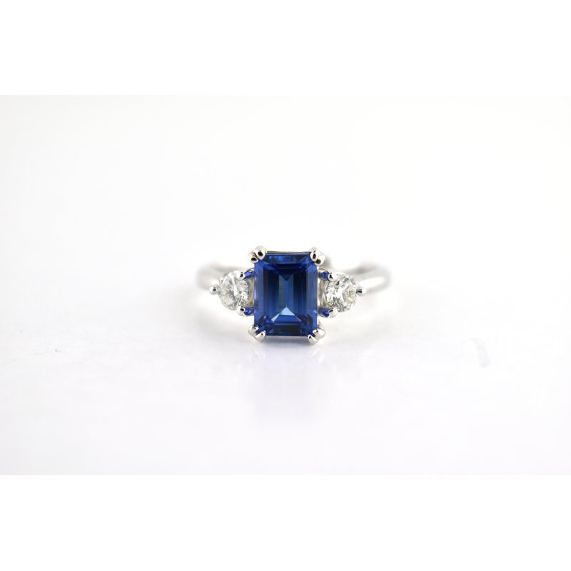 WS Creations Tanzanite Ring
