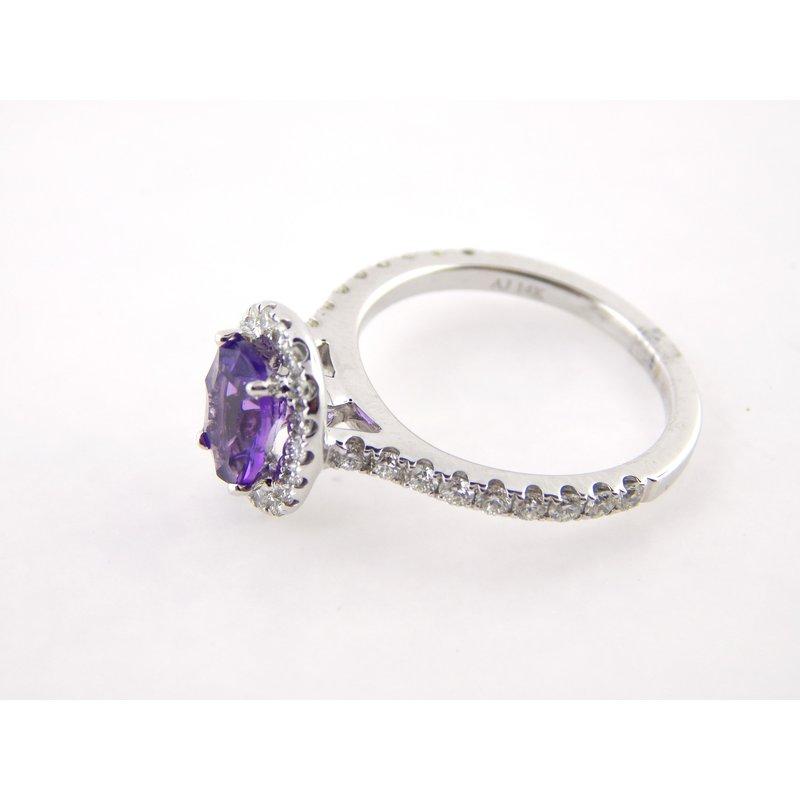 WS Creations Amethyst Ring