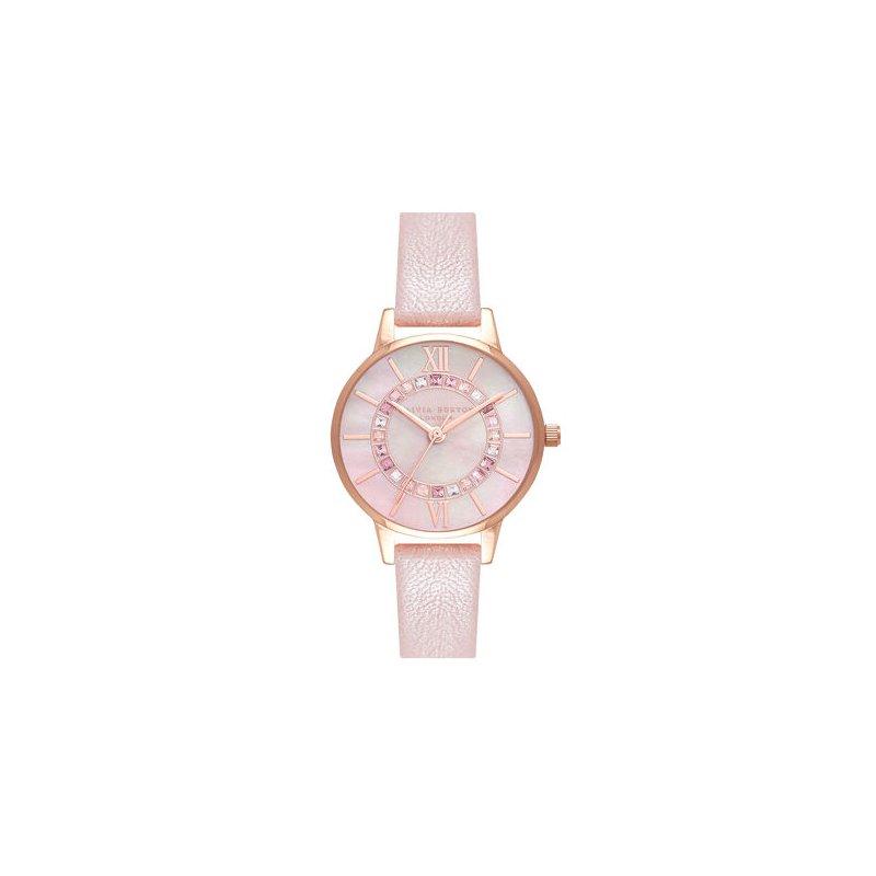 Olivia Burton Sparkle Wonderland Pearl Pink & Rose Gold Watch