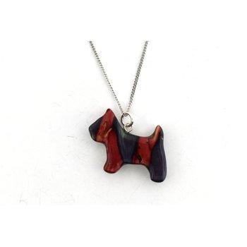 all heather dog pendant